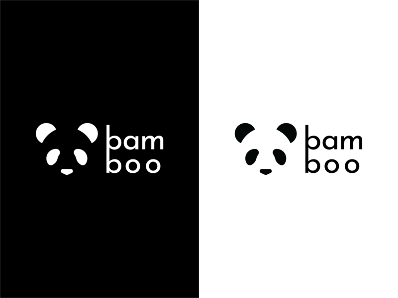 Daily Logo 003 Panda Logo black and white panda logo panda logo design daily logo challenge daily logo logo ui