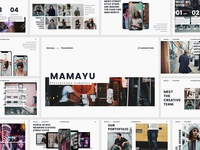 Mamayu - Lookbook Presentation Template