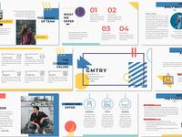 GMTRY - Geometric Presentation Template