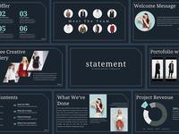 Statement - Presentation Template