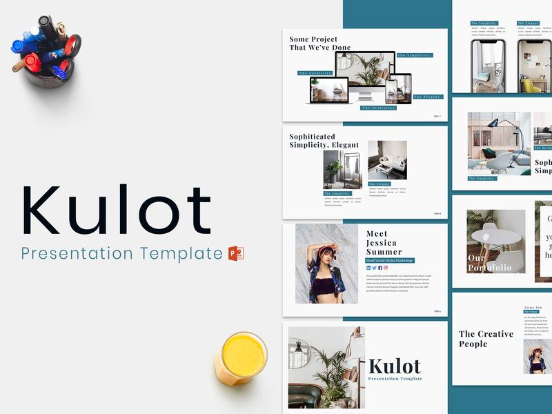 Kulot - Presentation Template by Dea Zulvi Alfindani on Dribbble