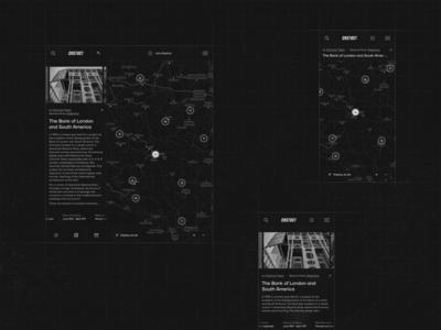CNSTRCT image gallery photoshop architecture website mobile architecture list product design clean website uiux ui minimal interface app web