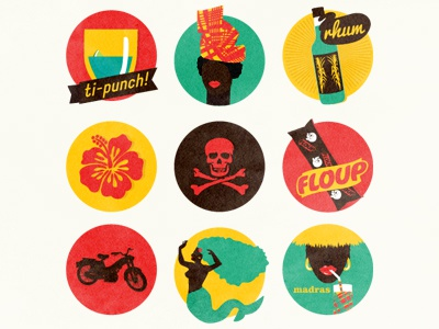 Caribbean icons icons caribbean