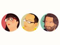 Tv Critics Illustration