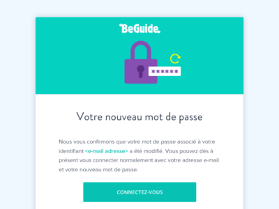 Beguide Forgot password Email welcome webdesign ui layout illustration email beguide
