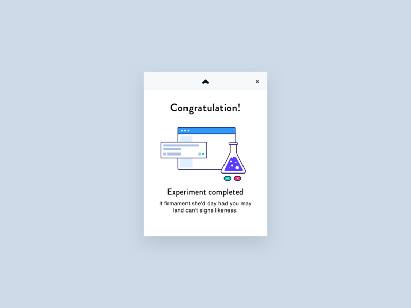 Experiment Pop up icon app vector icons layout design branding ui illustration