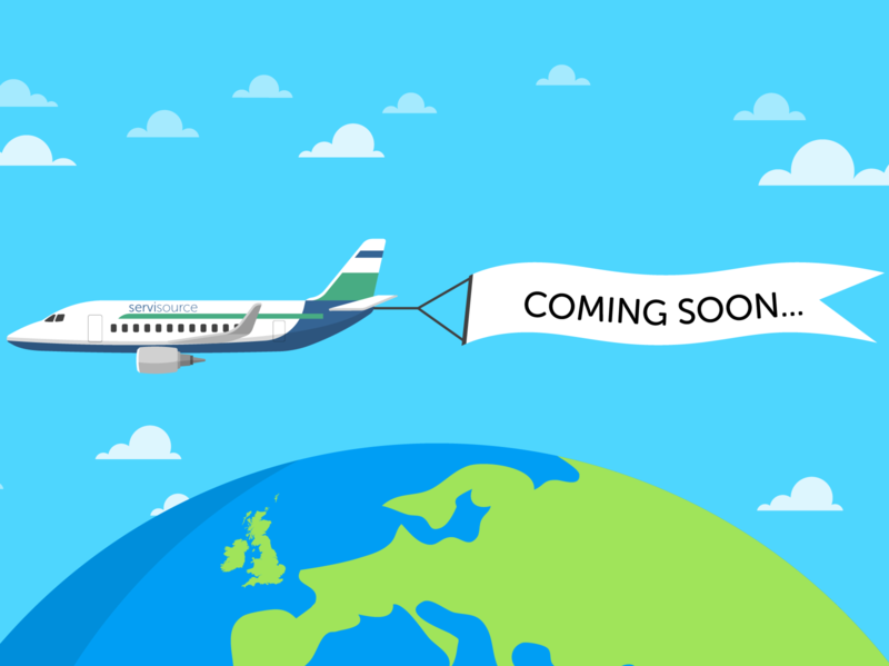 Servisource - Coming Soon reveal illustration workforce solutions recruitment coming soon