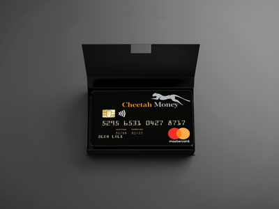 Cheetah Money Credit Card Unveil in Box