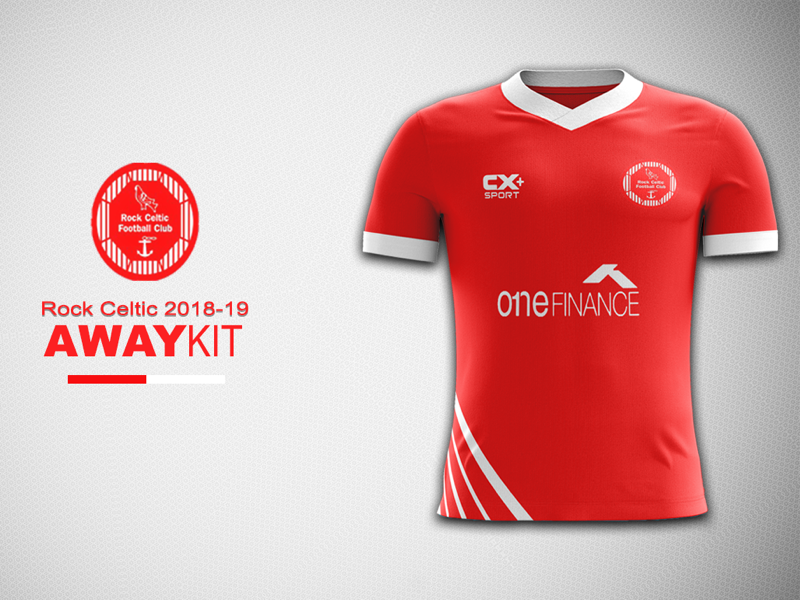 bd9630776 Rock Celtic Away Kit Concept football kit design rock celtic jersey concept  football kit concept kit