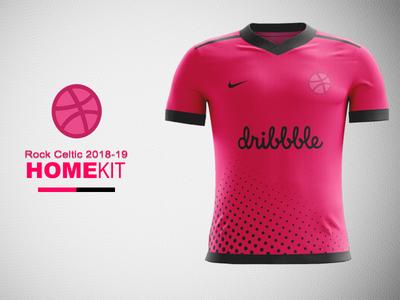 Dribbble FC Home Kit Concept nike concept nike kit design jersey concept dribbble kit concept dribbble kit dribbble football kit concept kit concept football kit