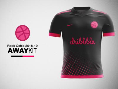 Dribbble FC Away Kit Concept nike concept nike football kit kit concept football kit concept dribbble dribbble kit dribbble kit concept jersey concept kit design