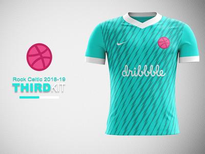 Dribbble FC Third Kit Concept dribbble fc nike concept nike football kit kit concept football kit concept dribbble dribbble kit dribbble kit concept jersey concept kit design