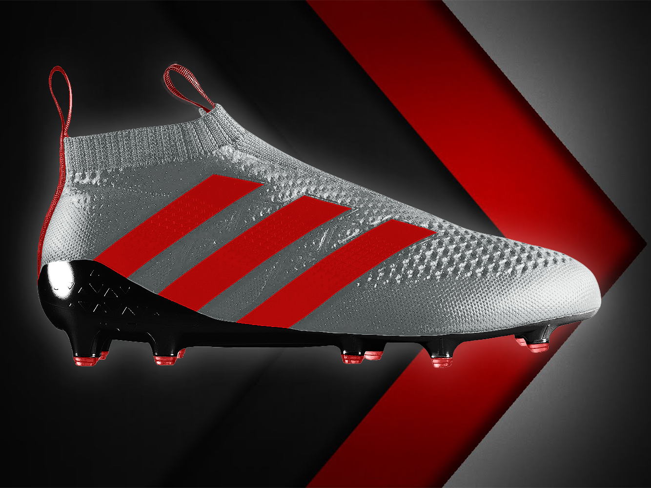 size 40 7fe0e 795d2 Adidas Ace 16+ Silver/Red/Black by Peter Farrelly on Dribbble