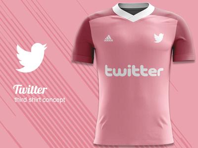 Twitter FC Third Kit Concept adidas concept adidas kit design kit concept jersey concept football kit concept football kit twitter fc twitter