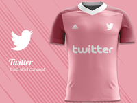 Twitter FC Third Kit Concept