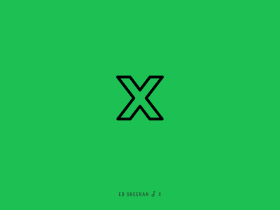 Icon Cover (Ed Sheeran, X)