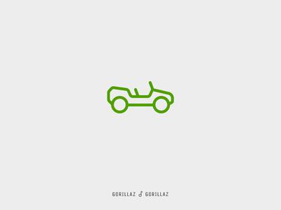 Icon Cover (Gorillaz, Gorillaz)