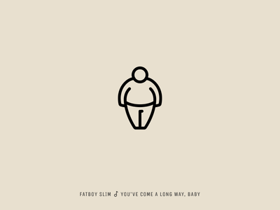 Icon Cover (Fatboy Slim, You've Come a Long Way, Baby)