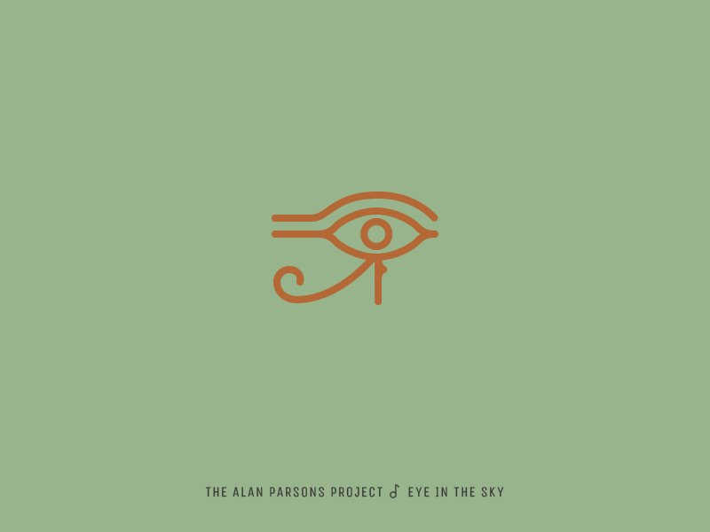 Icon Cover (The Alan Parsons Project, Eye in the Sky) egypt eye icon album cover