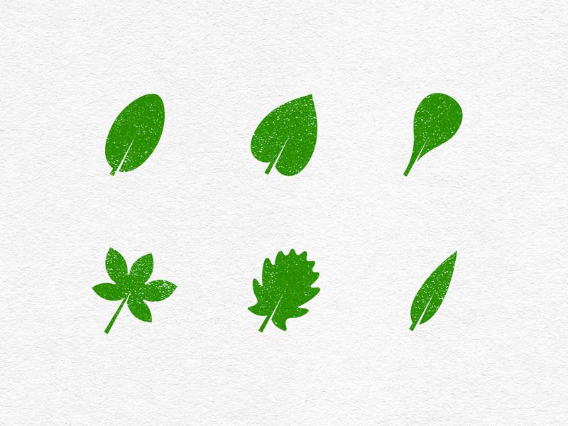Leafs Icon Set icons set icons icon leafs leaf