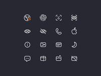 Rocketbank Icons / pt. 3