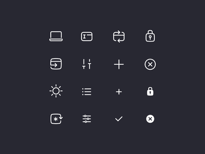 Rocketbank Icons / pt. 6