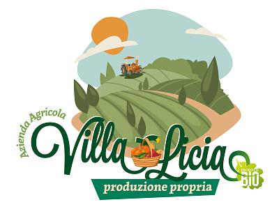 Villa Licia HI logodesign logotype