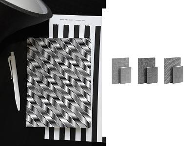 OPTICAL optical illusion optical art stationery design nava design