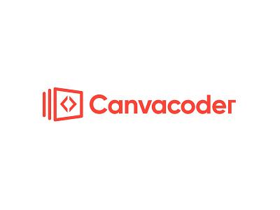 Branding Logo - Canvacoder b2b enterprise inspration design css html coder canvas development code tech startup branding logo