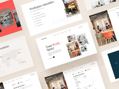 Blackdesk  - website css html frontend landingpage webdesign web design startup website