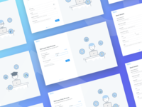 Signup Flow - Communication App
