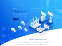 Sequr Landing Page - illustration
