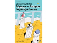 John Stuart Mill / book cover illustration