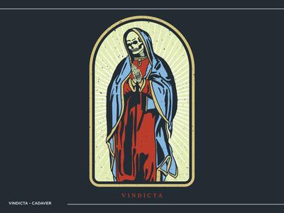 Vindicta - Cadaver merch design