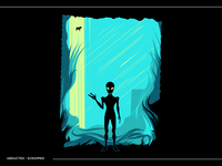 Abducted - Tee Design