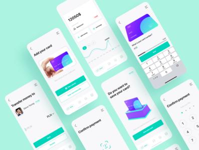 Fintech payment app