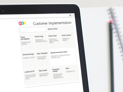 Customer Implementation - Chrome extension web vector ux ui typography type lettering icon flat design app extension