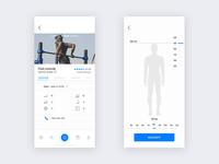Gym iOS app