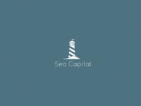 Lighthouse - Sea Capital Logo Mockup.