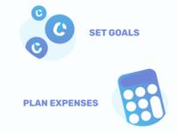 WIP onboarding for a finance app