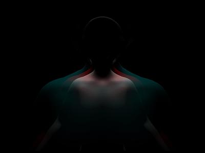 Polarity vanitas layers shadows ominous modeling compositing 3d