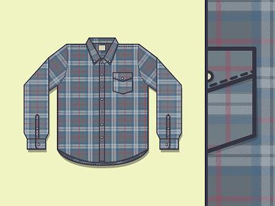Plaid Button Down plaid button down shirt flat pattern flannel