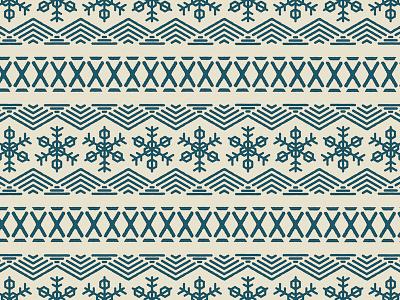 Snowflake Pattern winter pattern hexagon nordic snowflake snow flake