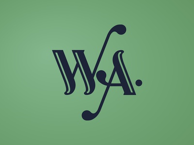 Ode To Washington State typography washington state wa