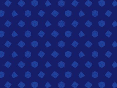 Dice Pattern d20 d6 d4 d10 d8 dice pattern