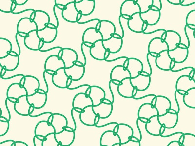 Rope Pattern rope pattern green subtle shading intertwine