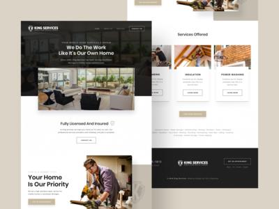 Mobile Home Repair Web Design