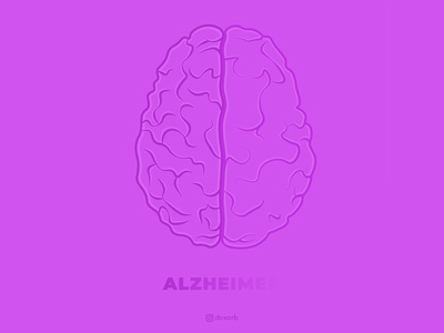 End Alzheimer's Illustration || Doxorb