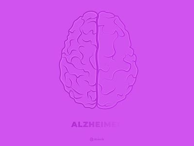End Alzheimer's Illustration || Doxorb awareness illustrstor donation charity alzheimer november alzheimers doxorb userinterface illustration ux website branding webdesign ui graphic design designers design