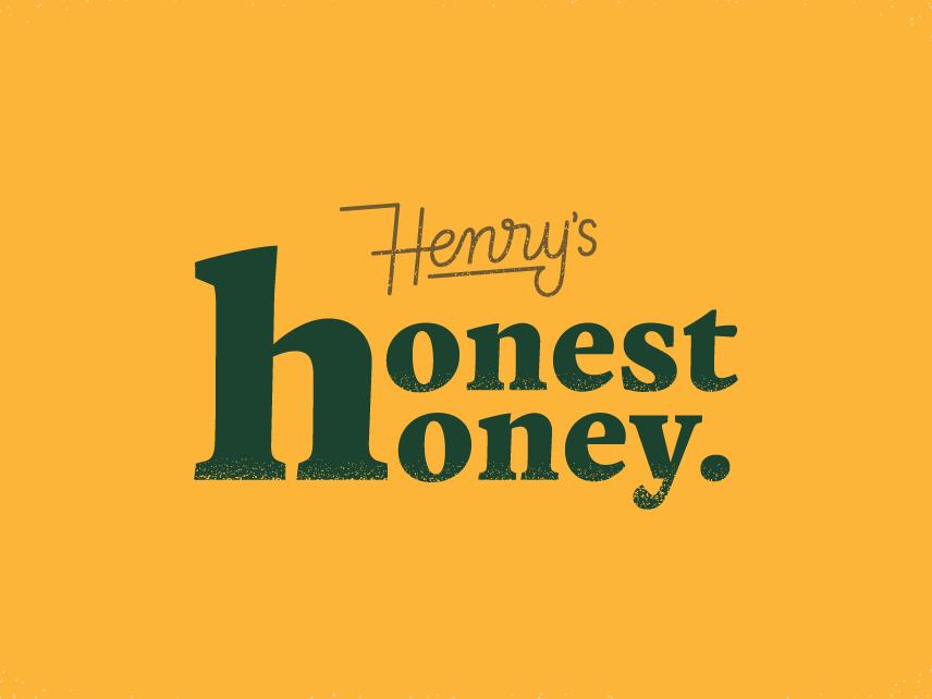 Honest honey bee retro vintage handlettering branding type logo design illustration hand lettering lettering typography logo